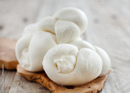 Italian cheese braided Mozzarella
