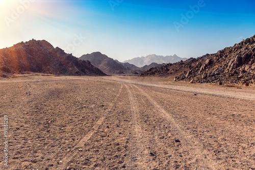 Photo Arabian desert in Egypt