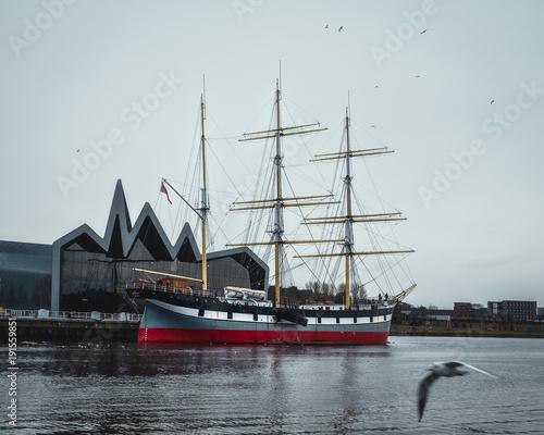 Stampa su Tela Glenlee, steel-hulled three-masted barque