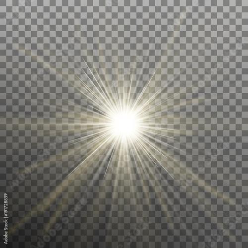 Fotografia, Obraz Bright shining star