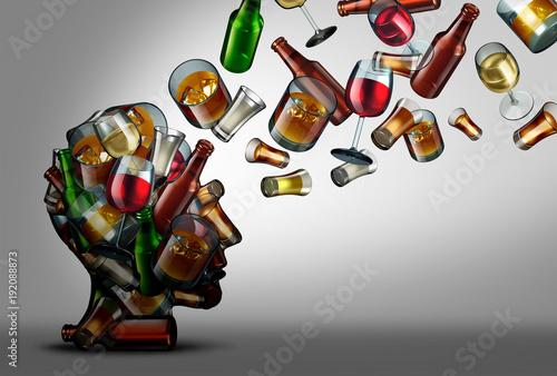 Obraz na plátně Alcohol Education
