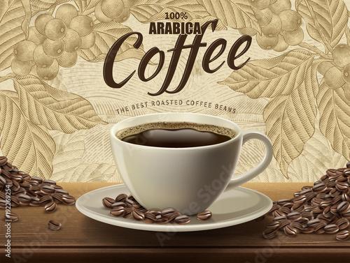 Reklamy kawy Arabica