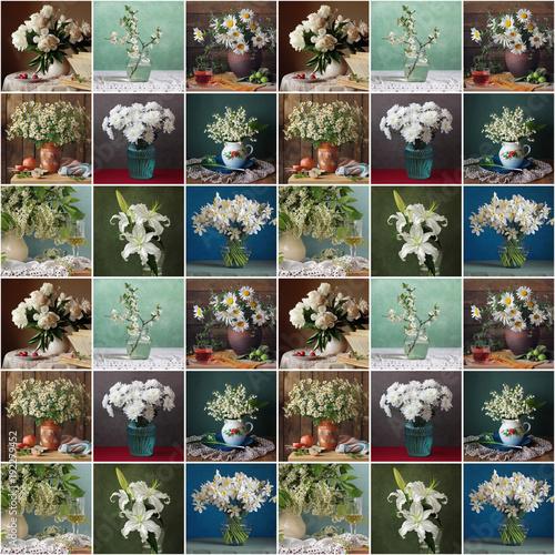 z-mozaika-bukietow-bialych-kwiatow-w-wazonie