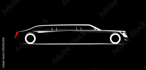 Carta da parati simple symbol corporate limousine