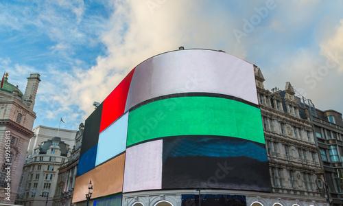 фотография Piccadilly Circus Straßenkreuzung Londoner West End