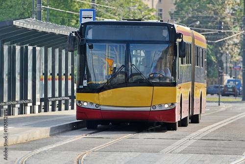 Autobus miejski- Łódź, Polska