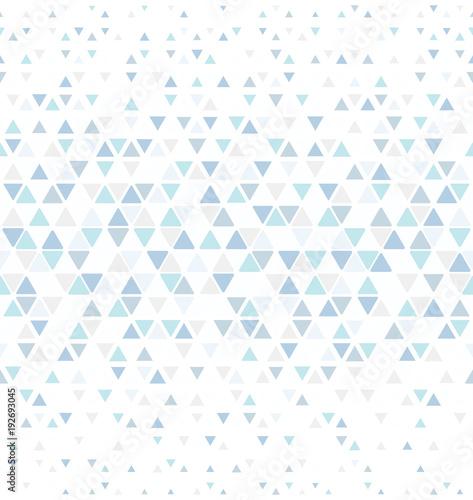 Obraz na płótnie w stylu minimalistycznym z modnym geometrycznym wzorem
