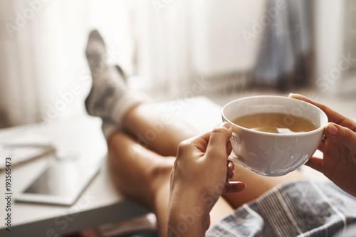 Obraz na płótnie Cup of tea and chill