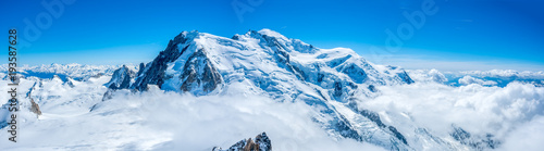 Photo Mont Blanc mountain in France