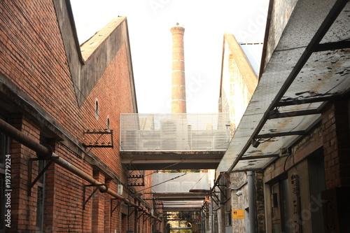 Old Factory in Guangzhou, China