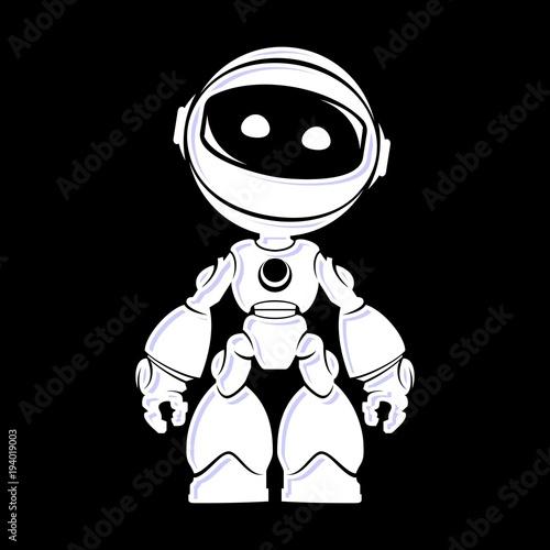 Photo Bot alien vector