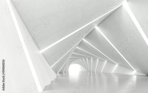 Naklejki na meble Powykręcany abstrakcyjny tunel w 3D