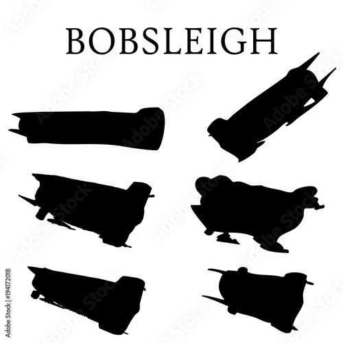 Tableau sur Toile Bobsleigh