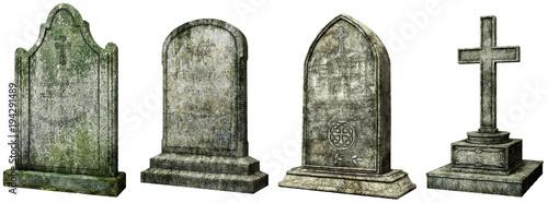 Canvas-taulu Gravestones