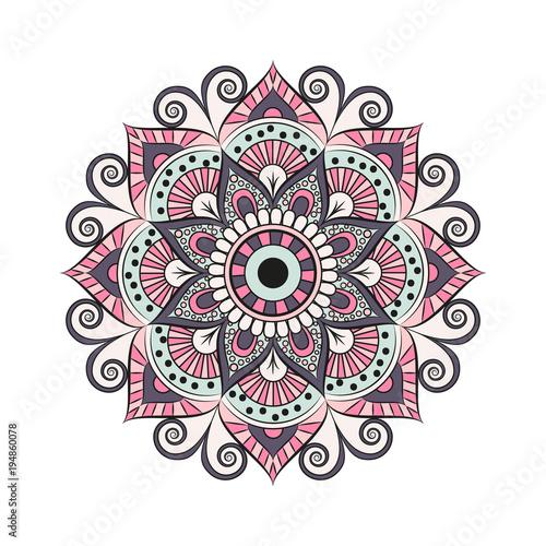 Αφίσα Flower Mandala