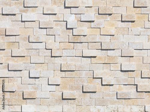 Canvas Print natural stone wall