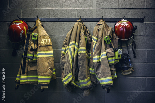 Canvas-taulu Firefighter