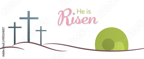 Fotografie, Obraz Easter background