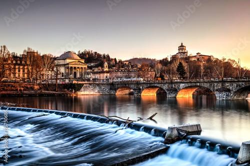 Stampa su Tela Gran Madre di Dio, Torino