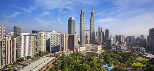 Photo City scape of Kuala lumpur city