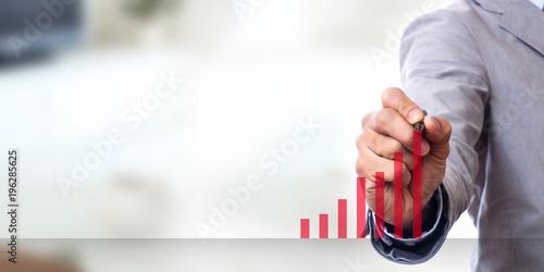 Slika na platnu business growth concept