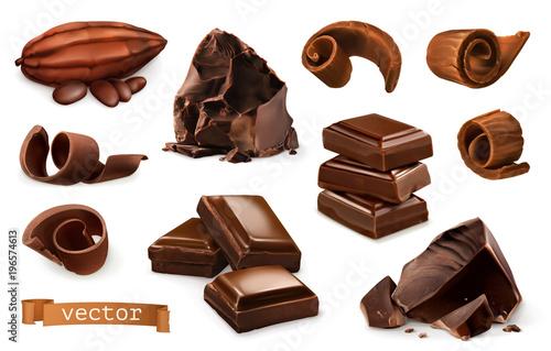 Obraz na płótnie Chocolate