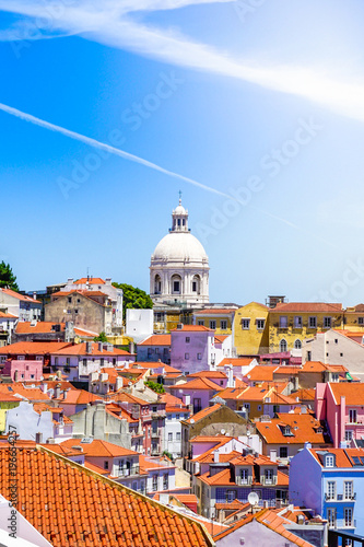 A view of the Lisbon Alfama District