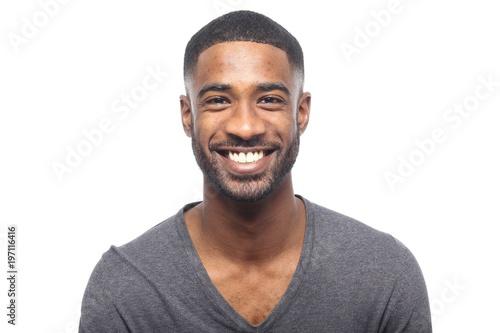 Canvas-taulu Black man