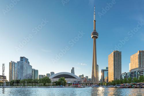 Toronto Downtown skyline, Toronto, Ontario, Canada.