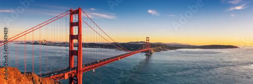 Canvas Print Golden Gate bridge, San Francisco California
