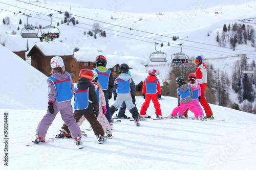 Cours de ski enfants-9705