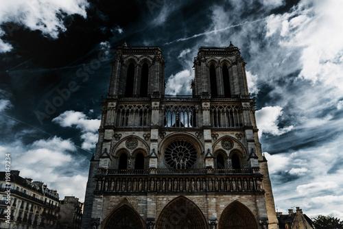 Obraz na płótnie Notre-Dame Cathedral, Paris, France