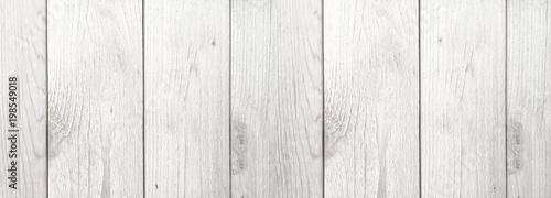 Valokuva Whitewashed Wood Grain Farmhouse Style Shiplap Background Texture, Horizontal