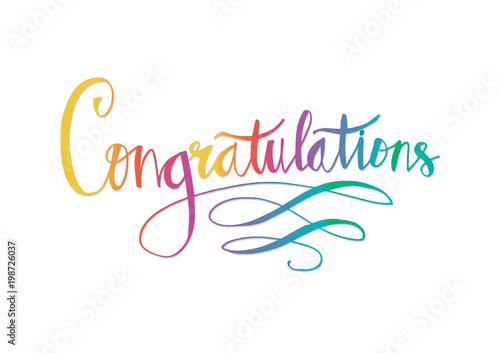 Foto Congratulations card