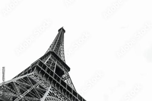 Carta da parati Eiffel tower in Paris, France
