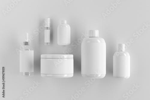 Blank white packaging
