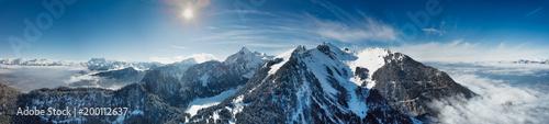 Obraz na płótnie Zima w panoramie