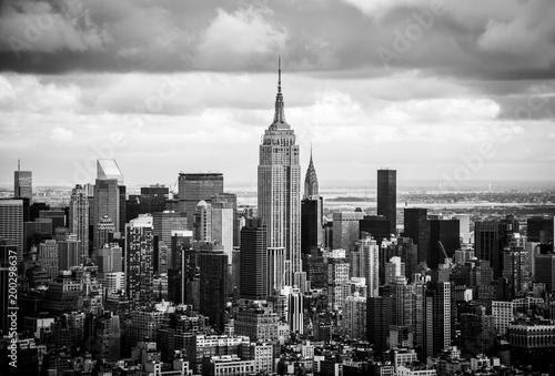 Slika na platnu Empire State Building Aerial