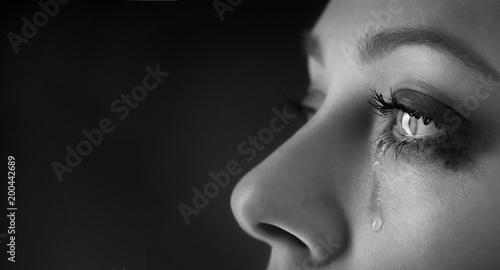 Fotografia beauty girl cry