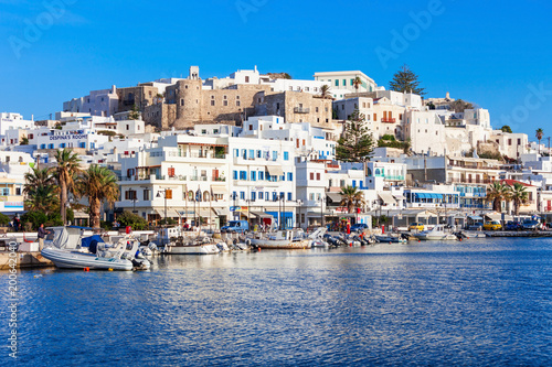 фотография Port in Naxos, Greece