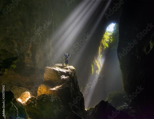 Fotografie, Tablou Light Beams