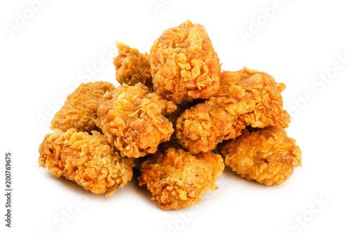 Chicken wings in breading