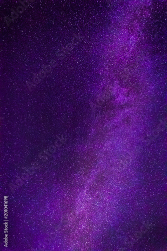 Milky Way Galaxy And Thousands Of Stars