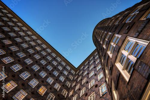 Architektonische Details der Hamburger Speicherstadt  Architectural details of Hamburg's Speicherstadt