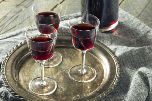 Fototapeta Sweet Port Dessert Wine