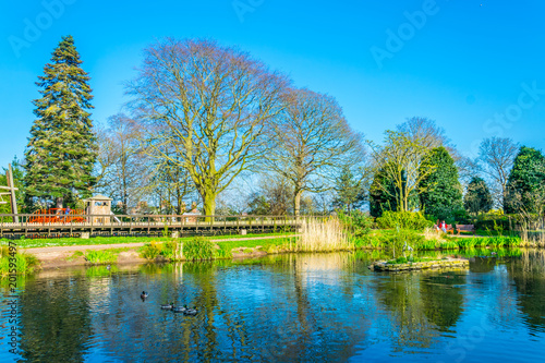 Obraz na plátne Grosvenor Park in Chester, England