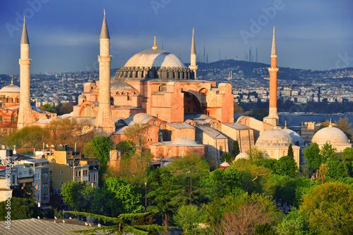 Valokuva Hagia Sophia museum (Ayasofya Muzesi) in Istanbul, Turkey