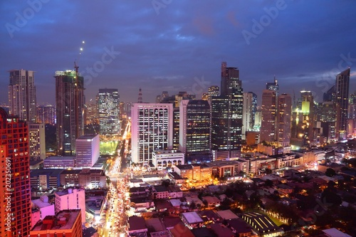 Manila city night