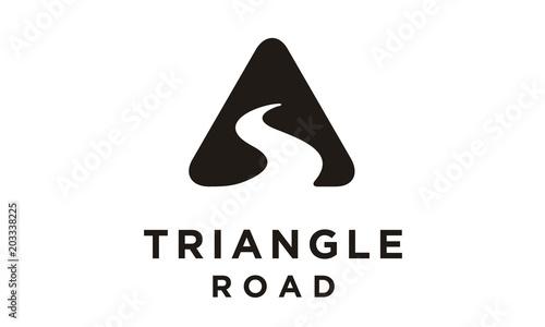 Photographie Triangle Street Road River Creek symbol logo design