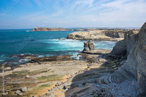 Fotografering The coast of Atlantic ocean
